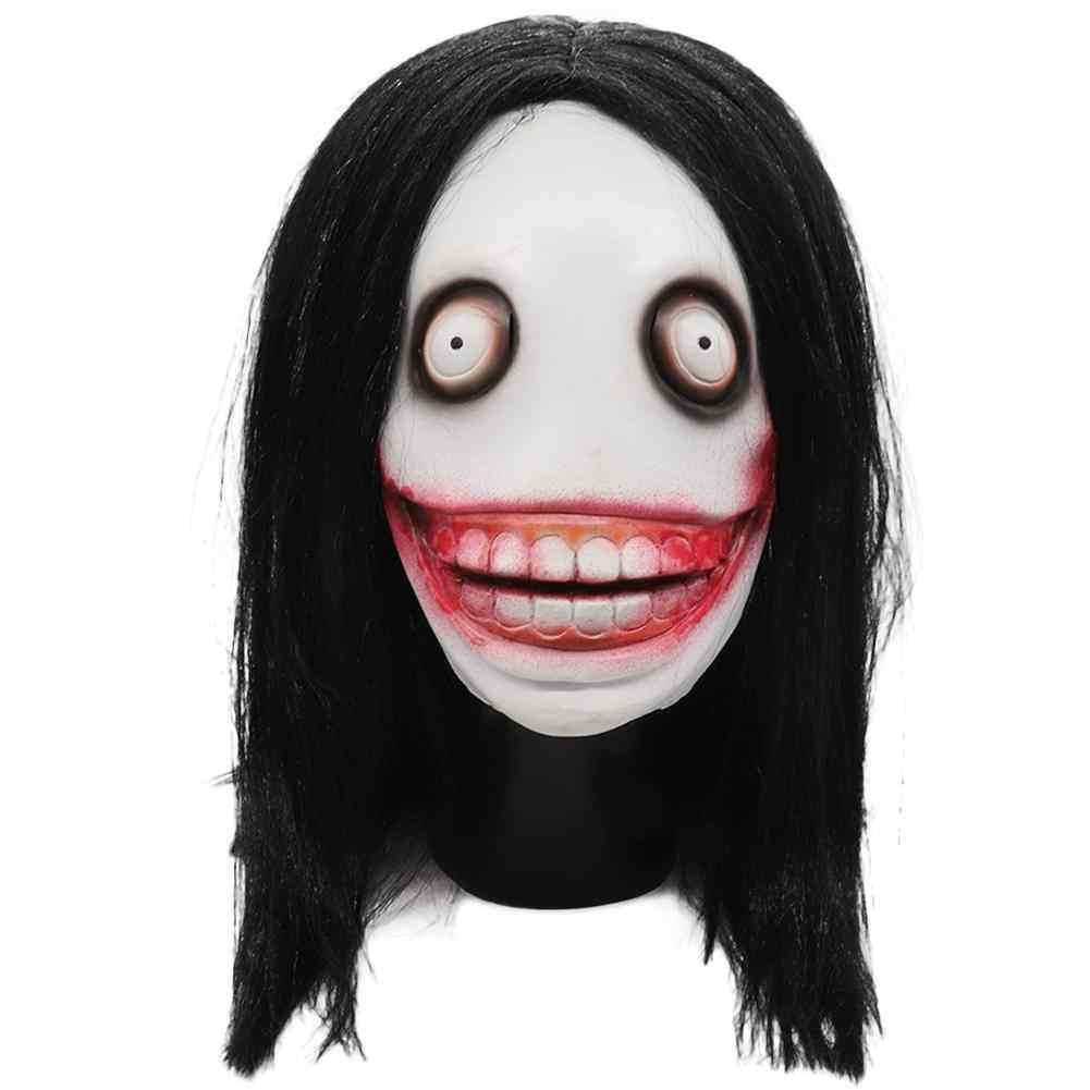 Maski na Halloween zabójca Jeff maski rolę-gry dla dorosłych zabójca maski na boże narodzenie Cosplay urodziny dramat akcesoria do gier