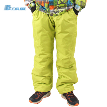 Goexplore Snowboard Pants Men M-3XL Outdoor Sports Mountaineer Trousers Windproof Waterproof Keep Warm Snow Ski pants Male