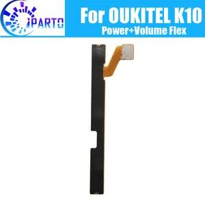 Image 1 - OUKITEL K10 гибкий кабель боковой кнопки кабель 100% оригинальная мощность + Кнопка громкости гибкий кабель, запчасти для ремонта для OUKITEL K10
