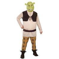 Custom Made Shrek Cosplay Costume top+pant+mask+gloves