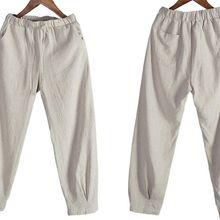 Natual льняные брюки Танга Боевые искусства кунг-фу штаны для тайцзи брюки для медитации синий/серый/верблюжий/кофе/черный/хаки