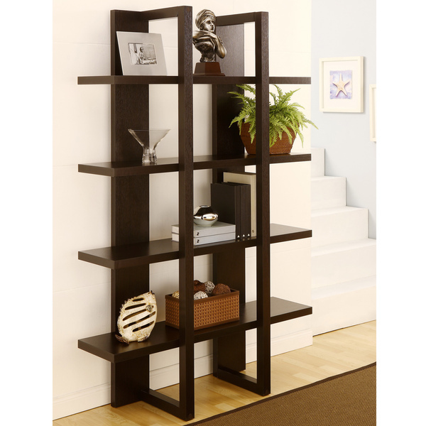 Simple Wood Clapboard Shelves Creative Decorative Wall Rack Shelf