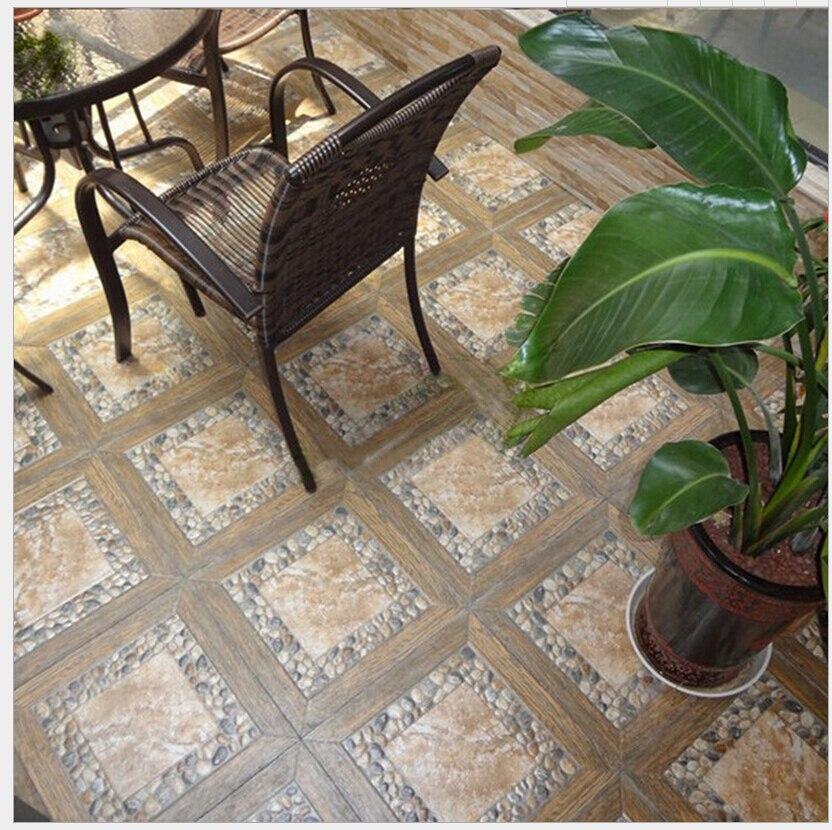 Ceramic Tile Is 400 Pebbles Archaize Brick Floor Balcony Gardens Prevent Slippery On Aliexpress