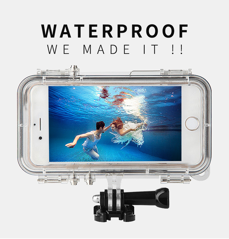 Waterproof Case For IPhone 6/6s IP68 Diving Underwater PC TPU Cover For IPhone 6/6s