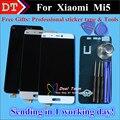 Высокое Качество Новых Запчастей Для Xiaomi Mi 5 M5 Mi5 ЖК-Дисплей + Сенсорный Экран Digitizer Замена Мобильного Телефона Белое Золото Черный