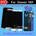 High Quality New Repair Parts For Xiaomi Mi 5 M5 Mi5 LCD Display + Touch Screen Digitizer Replacement Cellphone White Gold Black