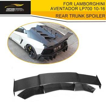 Задний спойлер для багажника из углеродного волокна чехол для Lamborghini Aventador LP700 LP700-4 Roadster Pirelli 10-16