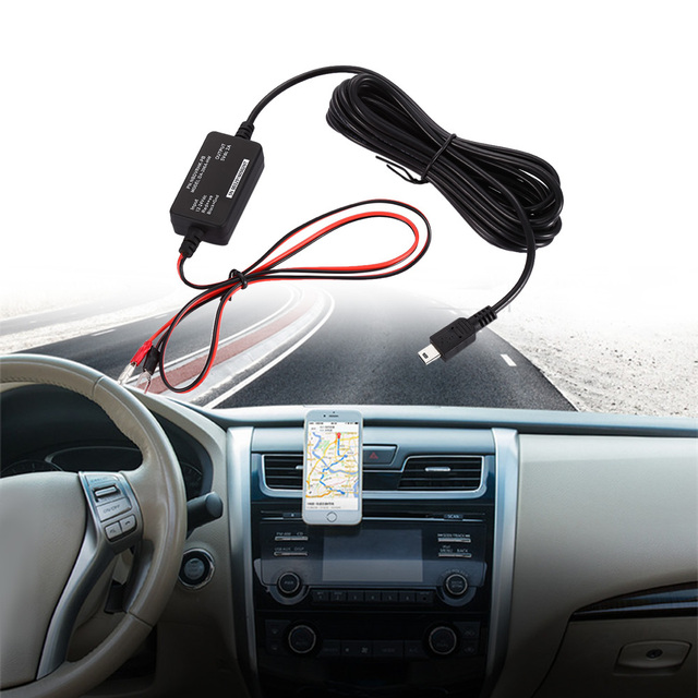 hard wire kit car driving recorder drop line fuse box power cord 3 hard wire kit car driving recorder drop line fuse box power cord 3 meter power cable included installation in minutes