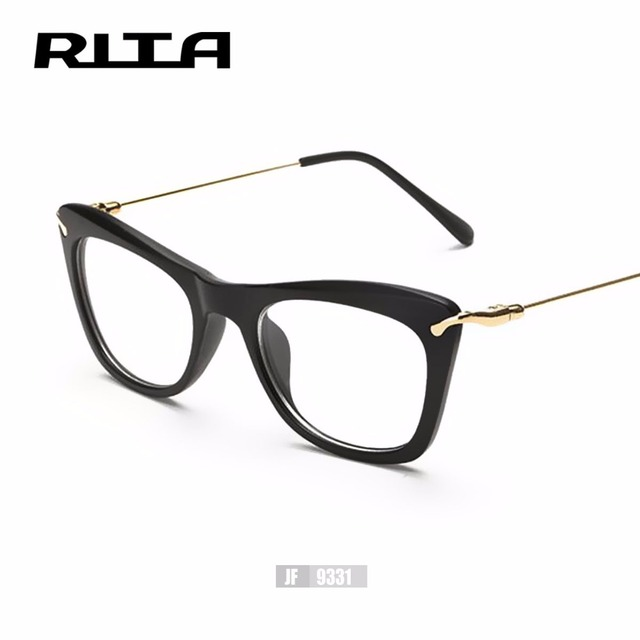 Optical Glasses Frame Eyeglasses With Clear Glass Myopia Frames ...
