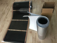 Shopkeeper 2017 Recommend 110W Meter 50cm 2m 1 Sq Meter Far Infrared Floor Heating Films With