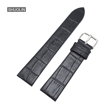 Ture leather Watch straps 12/14/16/18/20/22mm watchband 20MM 2017 relogios masculin Genuine Leather strap 16 watchbands 18MM 22