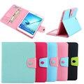 """Хит цвет для 8 """"Samsung Galaxy Tab S2 8.0 T710 T715 настольная подставка держатель protecttive tablet складной фолио слот для карты дело чехол"""