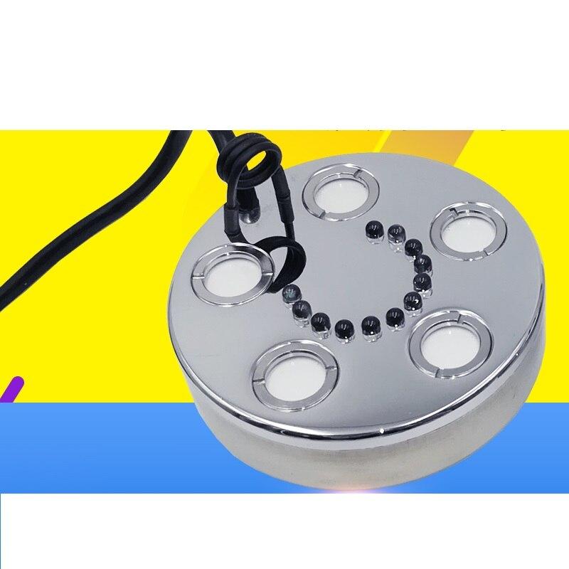 Lights & Lighting Analytical Colorful Aromatherapy Mist Maker Led Mist Lamp Light Fog Lamp For Fish Tank Aquarium Drop Shipping