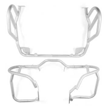 For BMW R1200GS R 1200 GS 2004-2012 Oil cooled Motorcycle Crash Bar Engine Tank Guard Cover Bumper One set of Frame Protector - DISCOUNT ITEM  20% OFF All Category