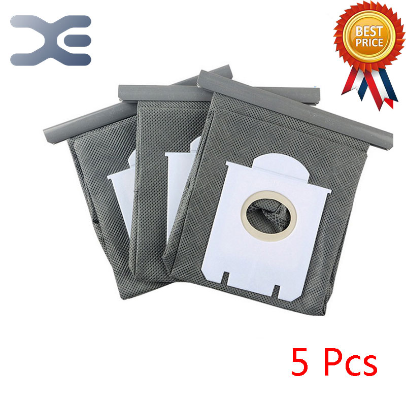 5Pcs High Quality Fitting For Philips Vacuum Cleaner Accessories Dust Bag Non - woven Bag Garbage Bag HR8376 / 8378 2pcs high quality fitting for philips vacuum cleaner accessories dust bag non woven bag garbage bag hr8376 8378