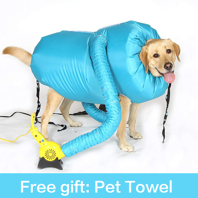 Dog Dryer Puff and Fluff Hair Dryer Professional Small Hair Dryer Pet Dryer Clothes Puffnfluff Cat