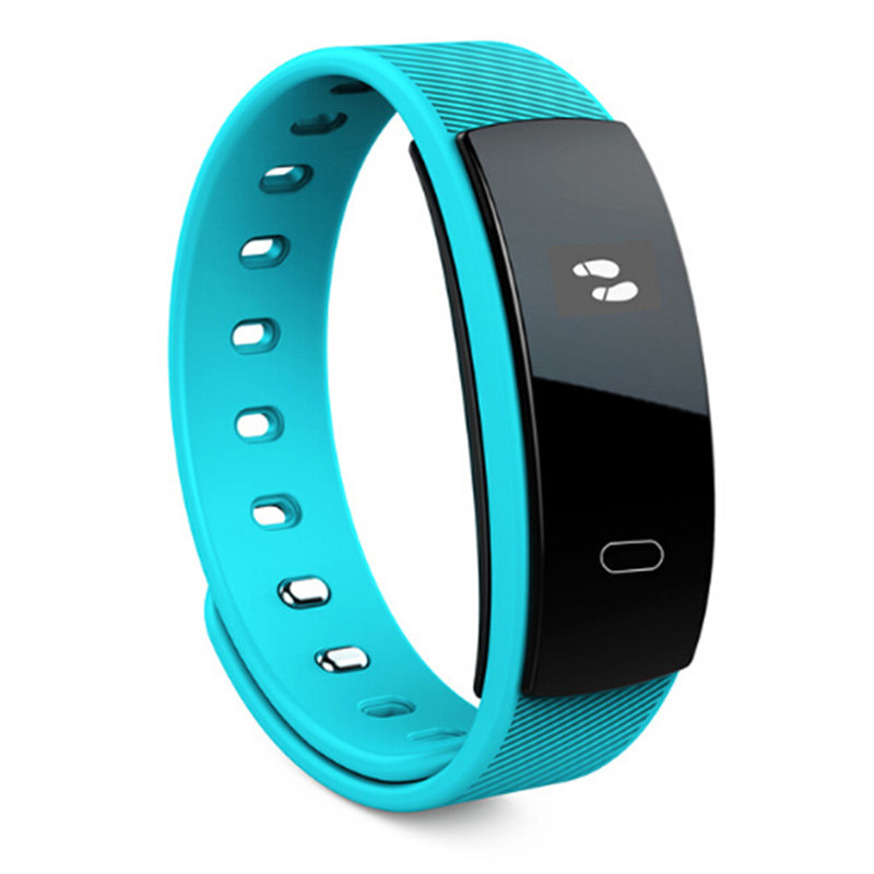 Multi-function smart bracelet waterproof blood pressure heart rate monitor alarm pedometer fitness tracker for Android ios