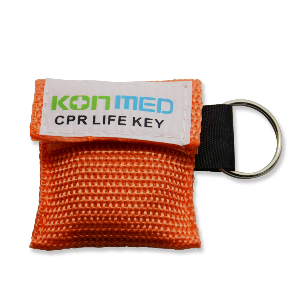 300 Pieces CPR Rescue Mask Shield With Key Chain For First Aid Month To Month Isolation