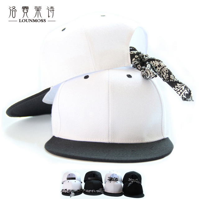 LOUNMOSS Black White Baseball Cap With Hijab Adult Unisex Men s Hats  Hip-hop Cap Adjustable 641a2838389d