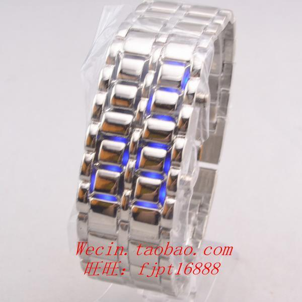 GOOD Fashion table steel strip led watch electronic watch
