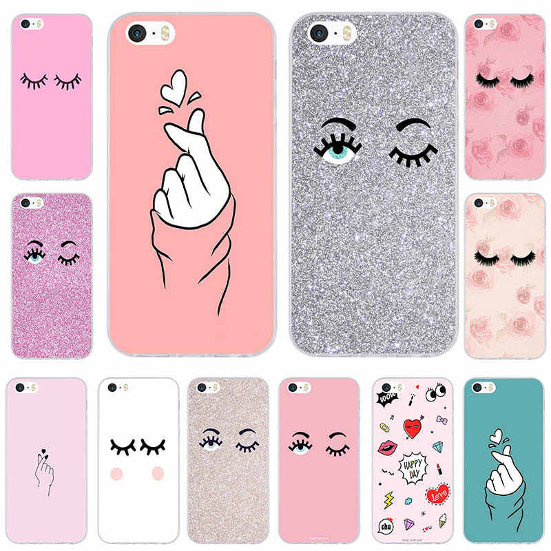 For iphone 6 Case Chiara Ferragni Eyes Soft TPU Silicon Mobile Phone Case  Clear Cover for 70c922977aca