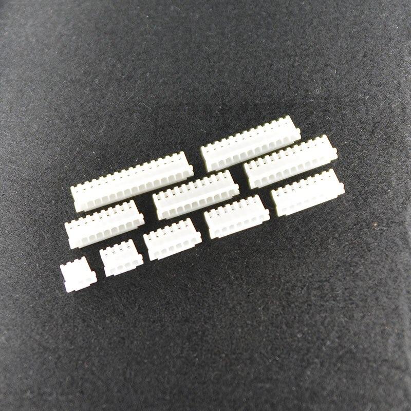 Connectors Self-Conscious 50pcs Xh2.54 Connector 2.54mm Pitch Female Housing Plastic Shell Plug 2p/3p/4p/5p/6p/7p/8p/9p/10p/11p/12p For Pcb Board Xh Lighting Accessories