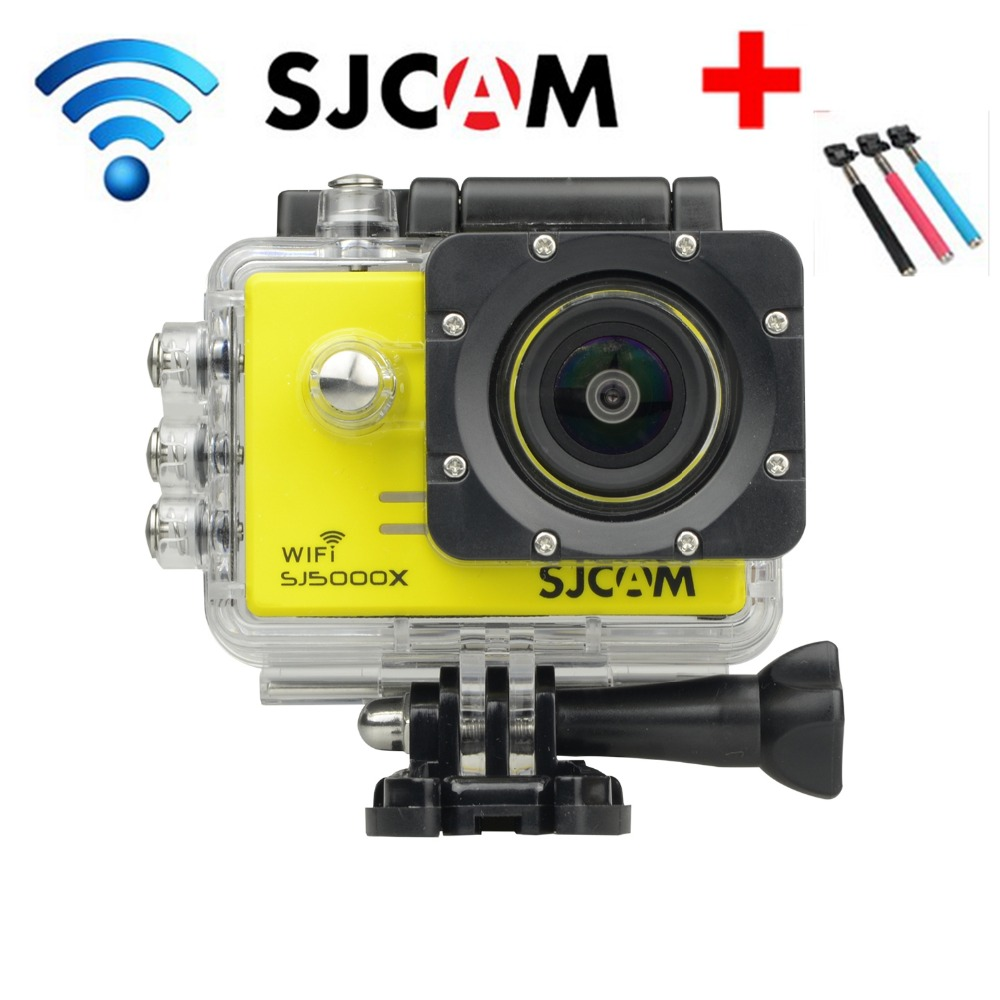 By DHL 5pc/lot Original SJCAM SJ5000X 2K WIFI Sports Camera 1080P Full HD Sports DV Camera 2.0 LCD Waterproof Diving 30M Cam