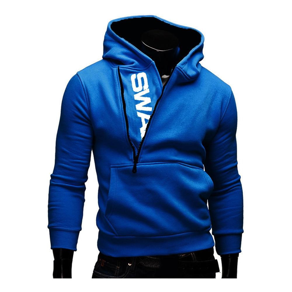 Hoodies Men Autumn Fashion Tracksuit Sweatshirt Men's Winter Warm Collar Cap Long Sleeves Pullover Hoody Sports Sweatshirts 19