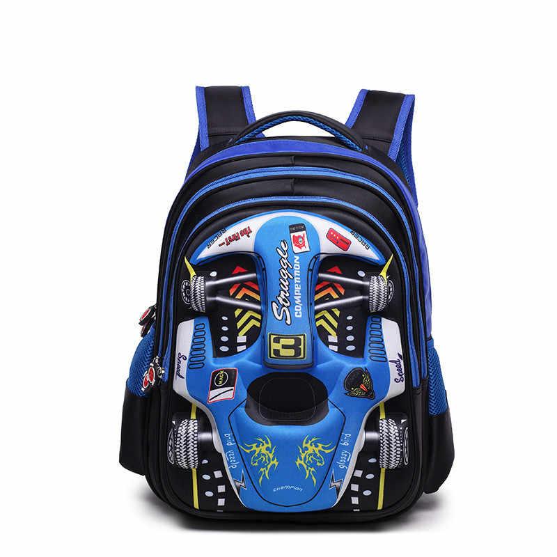 Mochila babay para niños mochilas escolares para niños en 3D Mochila para niños para jardín de infantes Mochila para escuela primaria Mochila para niños Mochila Infantil con cremallera