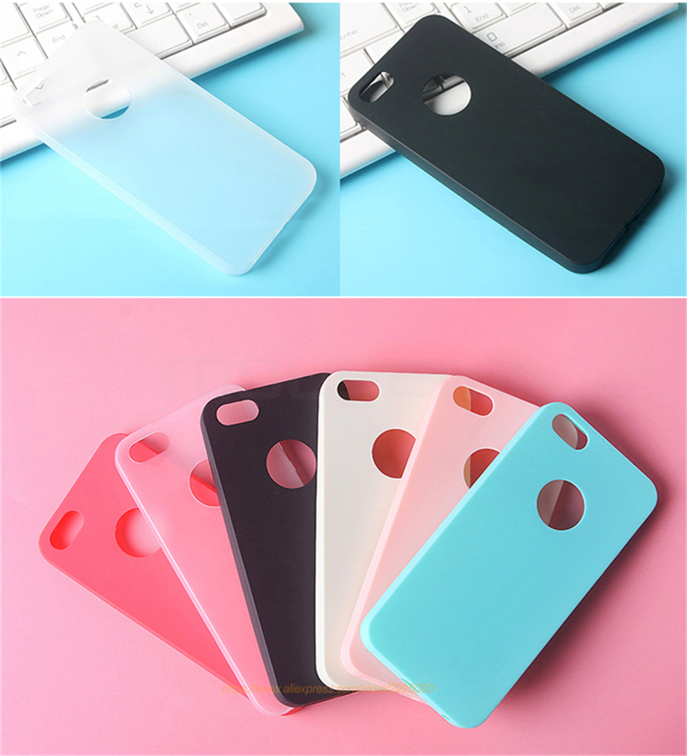 MOUSEMI Phone Cases Silicone 5S se For iPhone Case Candy For iPhone 5s se 5 Case Cute Silicone Pink Soft Luxury Matte Coque 5s 5 (12)