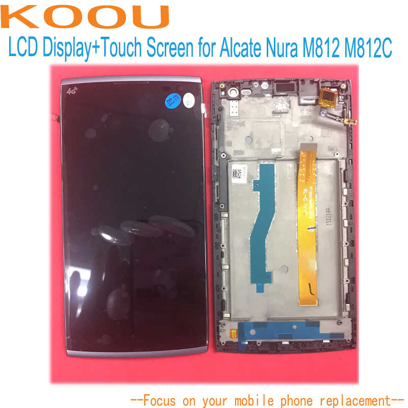 LCD Display Für Alcatel One Touch Orange Nura M812 M812C M812F 5,5 ''Touchscreen Dightizer Sensor Montage Ersatz Teile