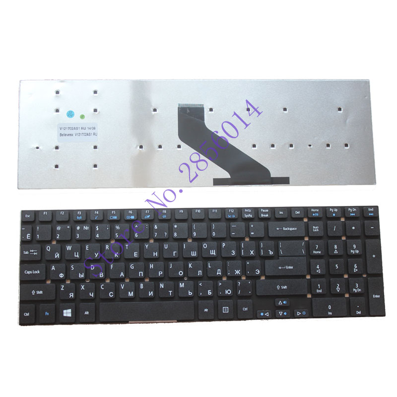 Russian RU Keyboard FOR Acer aspire E1-570 V3-772 V3-531 V3-531G V5-561 V5-561G E1-570G V3-7710 V3-7710G V3-772G laptop keyboard new laptop keyboard for acer aspire vn7 791 vn7 791g ru russian layout