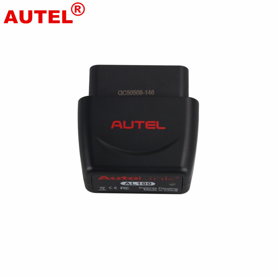 Autel Autolink AL100 DIY Bluetooth OBDII/EOBD Scanner for iPhone/iPad/iPad Mini 100% original autel autolink al519 code reader obdii eobd can scan tool updated online autolink al519 scanner free shipping