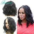 4x4 Silk Base Wig With Baby Hair Short Silk Top Full Lace Wigs Bleached Knots Bob Silk Top Lace Front Brazilian Wig Freeshipping