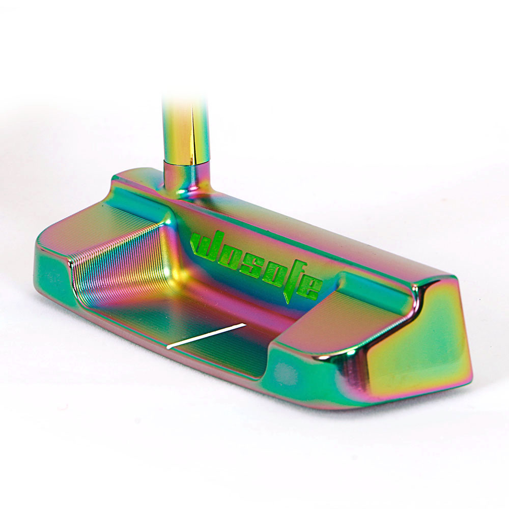 2019NEW PVD Finishing Carbon Steel CNC Milled Golf putter colorful golf clubs freeshipping
