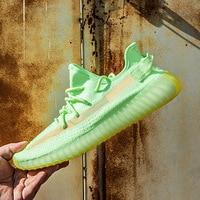 Men Summer Breathable Air Mesh Casual Shoes Couple Sneakers Yee zi Breathable Not Boost medusa shoes V2 zapatos de hombre Unisex