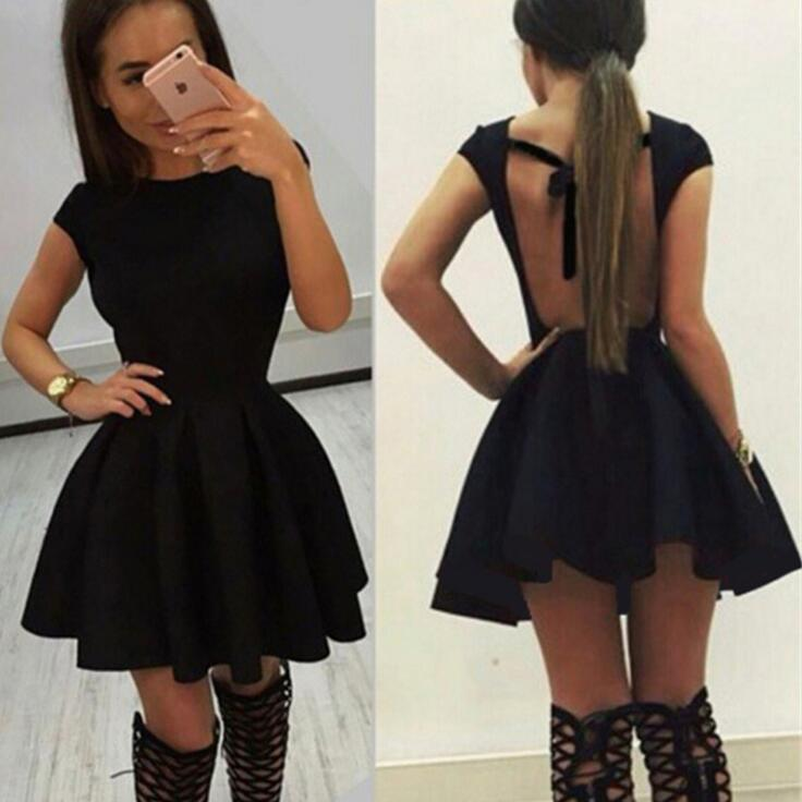 HTB1Jek8QpXXXXbOapXXq6xXFXXXS - FREE SHIPPING Women Sexy Dress Lace Up Hollow Out Backless Short JKP380