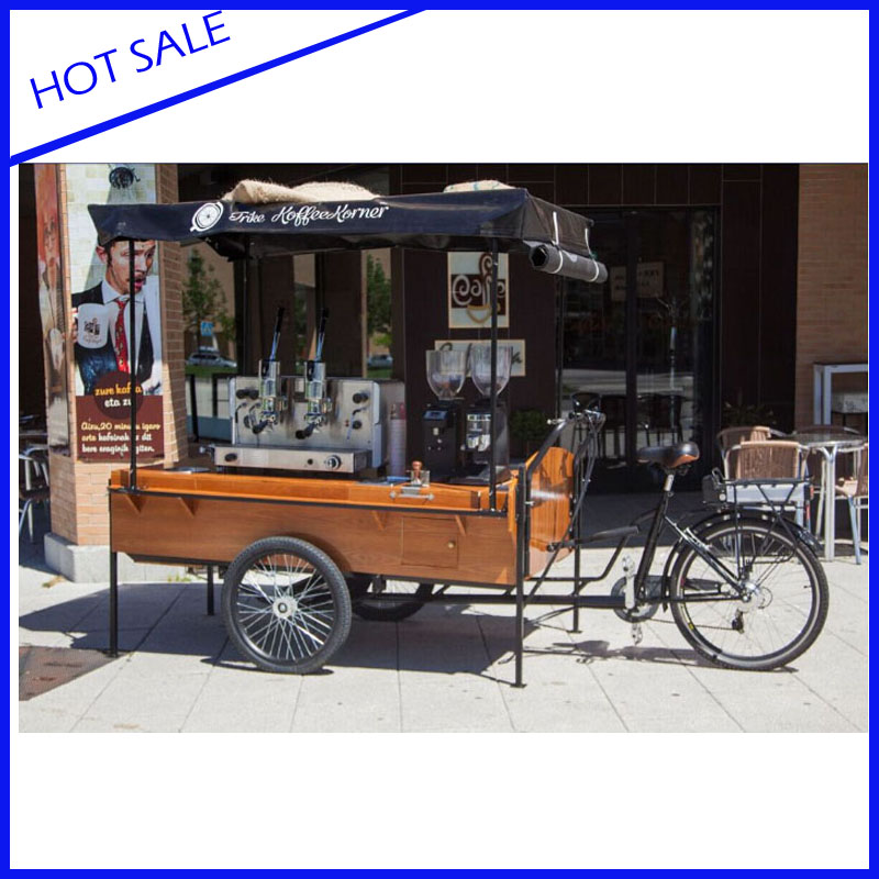 The Best Selling Retro Coffee Bike Mobile Food Trailer