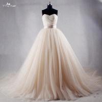 RSW1027 Champagne China Wedding Dresses Hochzeitskleid