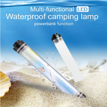 Panyz LED Camping Light IP68 Waterproof  Rechargeable Battery Powerbank 42 LED's Work Lamp Outdoor Portable Lights 2Magnet Clip