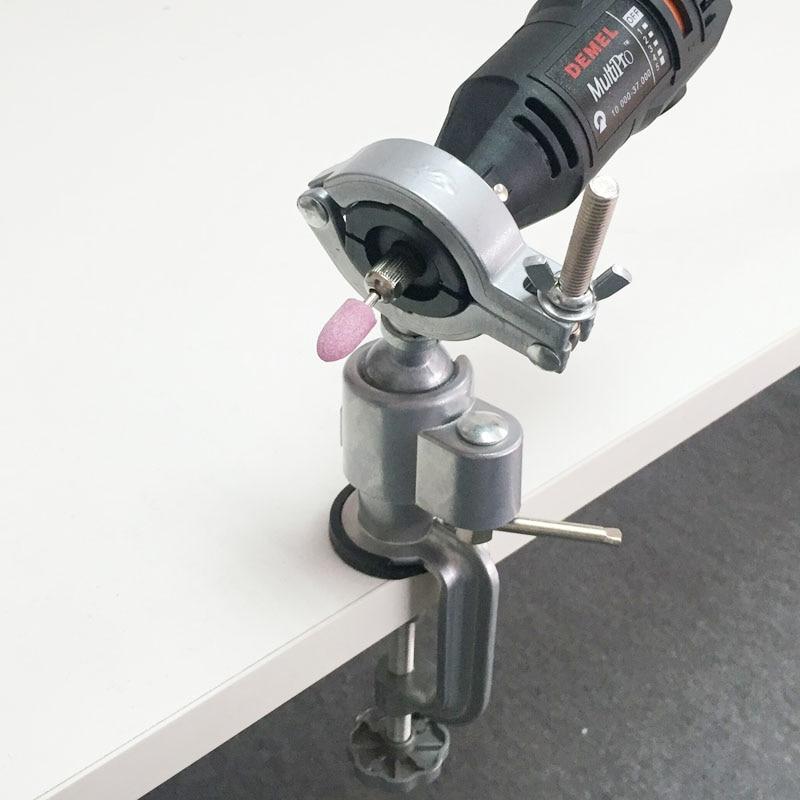 Mini morsetto universale da tavolo stabile rotante a 360 gradi per - Utensili manuali - Fotografia 1