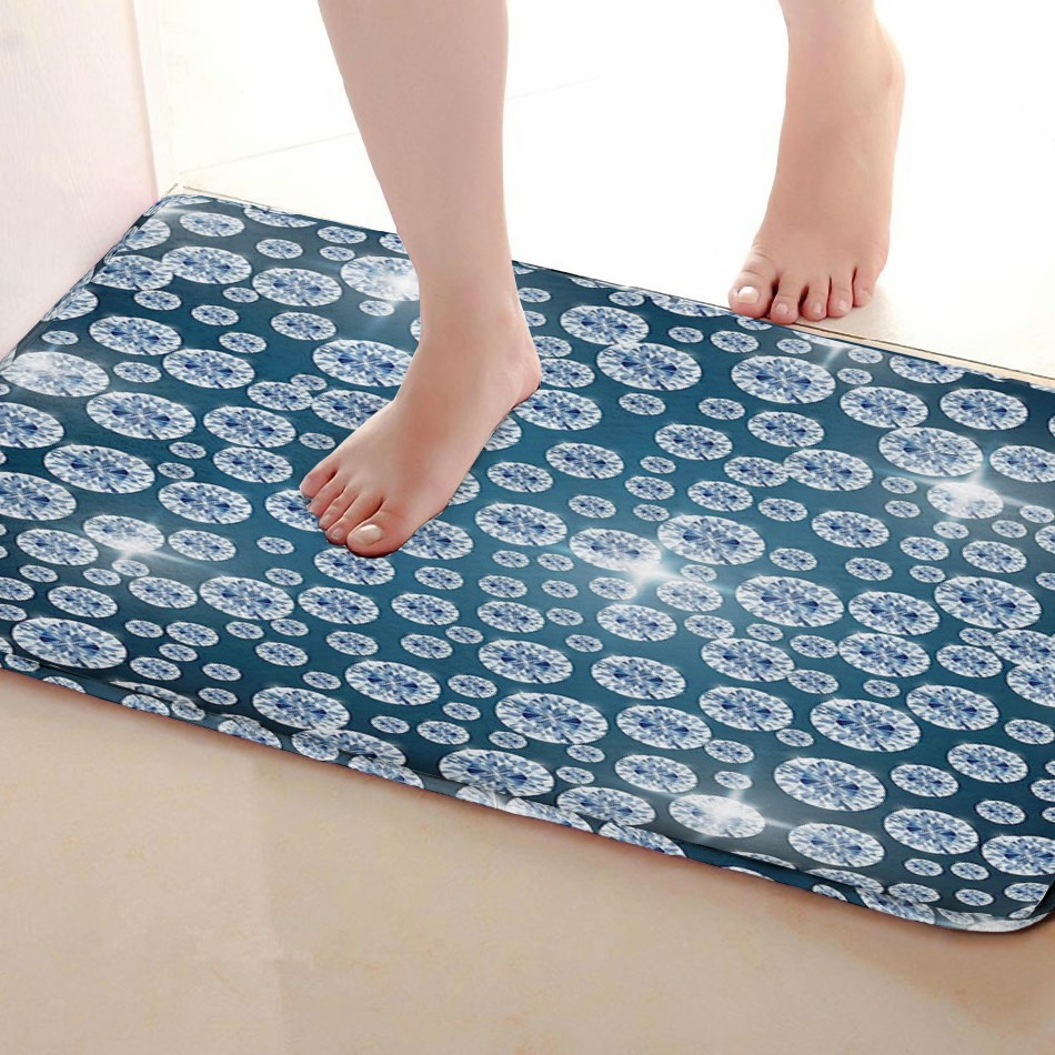 Shiny Style Bathroom Mat,Funny Anti skid Bath Mat,Shower Curtains Accessories,Matching Your Shower Curtain