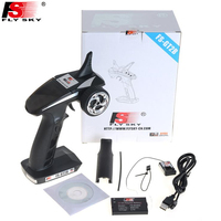 1pcs Fly sky FS GT2B FS GT2B 2.4G 3CH Gun RC Transmitter & Receiver W/ TX battery + USB Cable Charger Up GT2
