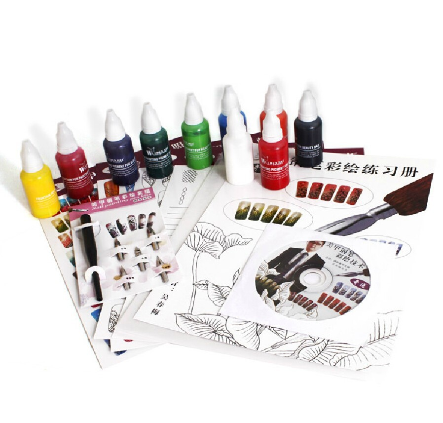 set for nail gel 01