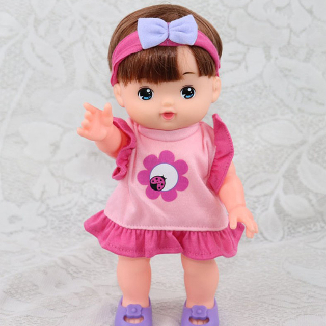 a1597152823a Cute Clothes Pink Dress Skirt Top and Rosy Headband For 25cm ...