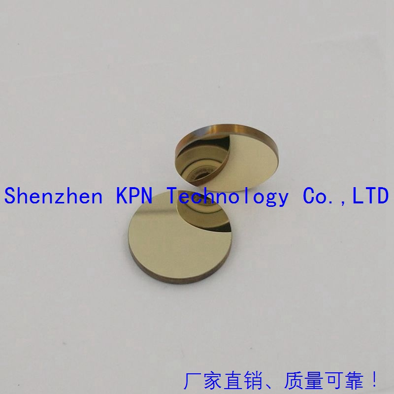 US $35 0  3pcs/lot gold plated reflection mirrors 20*3mm CO2 laser cutting  machine parts CO2 laser tube free shipping-in Lenses from Tools on