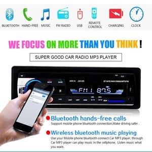 Image 3 - Podofo Autoradio JSD 520 12V 대시 1 Din Bluetooth 차량용 라디오 SD MP3 플레이어 자동 오디오 스테레오 FM 수신기 Aux 입력