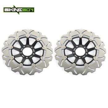 BIKINGBOY For SUZUKI GSXR GSX-R 1100 GSXR1100 GSX-R1100 1986 1987 1988 86 87 88 Full Sets Front Brake Discs Disks Rotors image