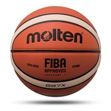 Новое высокое качество Баскетбольный мяч Официальный Размеры 7/6/5 из искусственной кожи Крытый подготовка к матчу Для мужчин Для женщин Баскетбол baloncesto