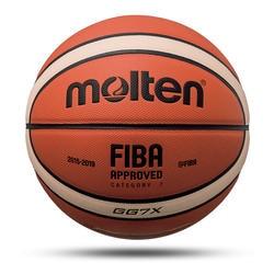 Новый для баскетбола, высокое качество официальный мяч Размеры 7/6/5 из искусственной кожи открытый Крытый матч обучение надувной для